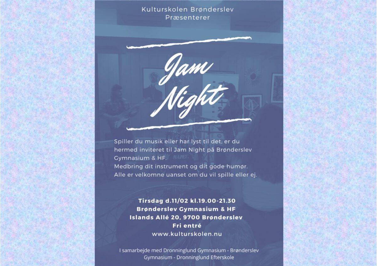 Kulturskolen præsenterer Jam Night